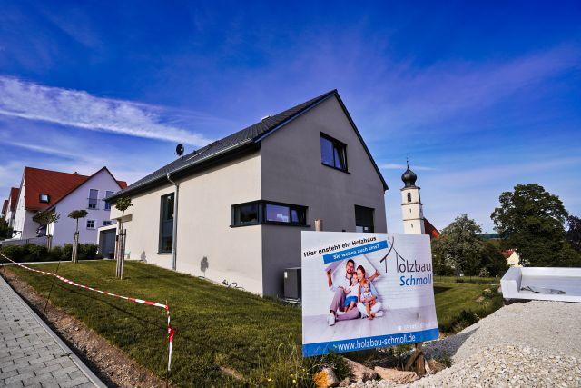 Dachstuhl Neubau Einfamilienhaus