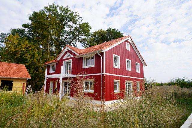 Schwedenhaus laimfrei in Massivholzbauweis